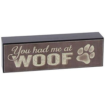 Carson Home Accents Woof Table Block