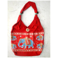 Marching Elephant Shoulder Bag