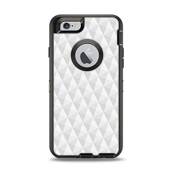 The White Studded Seamless Pattern Apple iPhone 6 Otterbox Defender Case Skin Set