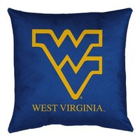 Sports Coverage West Virginia University Toss Pillow - WVAToss