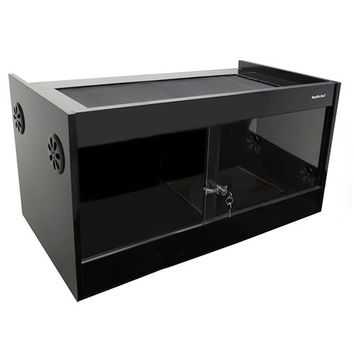 Reptile One Vivarium S2M-900 90x45x45cm Black