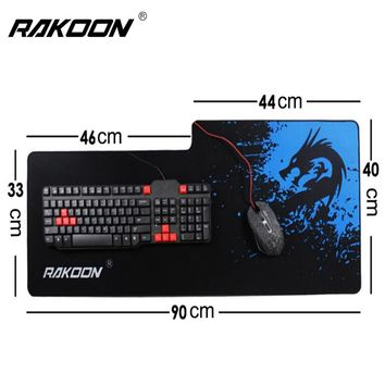 Large Gaming Mouse Pad Anime Mousepad Gamer Keyboard Mat for CS GO Csgo World of tanks Dota2 League of Legend Computer in Stock