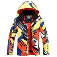 Men Snowboard Jacket Winter Warm Clothing Outdoor Sport Jacket