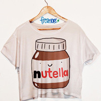 Nutella Crop Top | fresh-tops.com