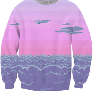 Pixel Sunset Sweatshirt