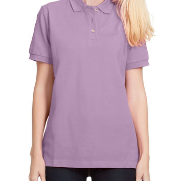 PREMIUM Sports Short Sleeve Cotton Pique Polo Shirt