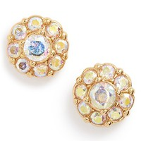 Women's kate spade new york crystal flower stud earrings