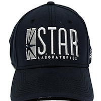 The Flash Star Labs Flex Fit 39/30 Hat Cap