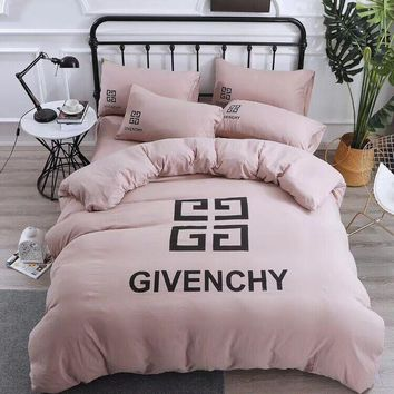 GIVENCHY Comfortable Soft 4 Bedding Set Conditioning Throw Blanket Quilt For Bedroom Living Rooms Sofa