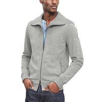 Banana Republic Mens Military Knit Jacket
