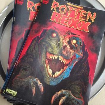 Lulubell Toys - Rotten Rex - comic book