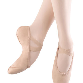 Child Pump Canvas Ballet Slipper Bloch S0277G