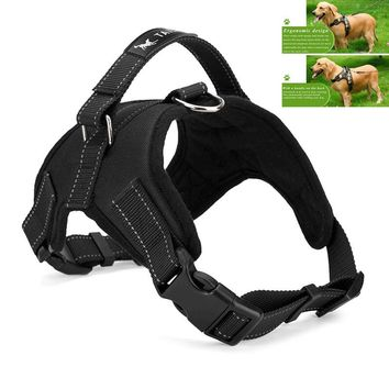 Dog Harness Padded Chest Strap Heavy Duty with Handle Comfortable