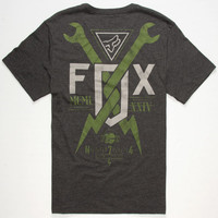 Fox Gigmaster Mens T-Shirt Black  In Sizes