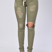 Marvin Joggers - Olive
