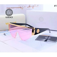 Pink VERSACE Fashion Aviator Sunglasses