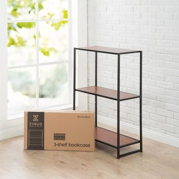 Modern Studio Collection 3-Shelf Bookcase - Walmart.com