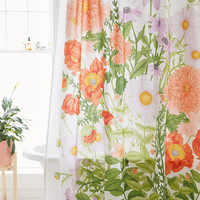 Marina Floral Shower Curtain | Urban Outfitters