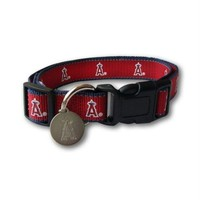 Chenier Los Angeles Angels Reflective Dog Collar