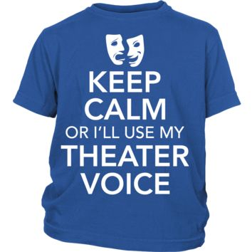 Theater - Keep Calm Voice - Kids