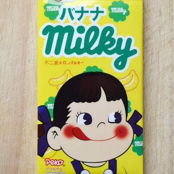 "Milky chocolate bar sweets candy wrapper banana flavour iphone 6 4.7"" case"