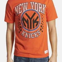 Men's Mitchell & Ness 'New York Knicks - Shooting Stars' Tailored Fit Graphic T-Shirt