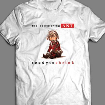 MARVEL'S THE ASTONISHING ANT MAN NOTORIOUS BIG ALBUM COVER PARODY T-SHIRT