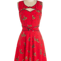 Good Ol' Daisy Dress in Owls | Mod Retro Vintage Dresses | ModCloth.com