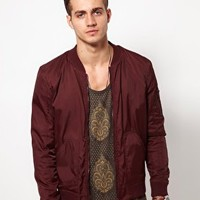 ASOS Bomber Jacket at asos.com