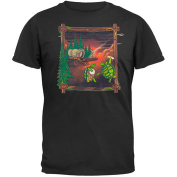 Grateful Dead - Covered Wagon Black T-Shirt
