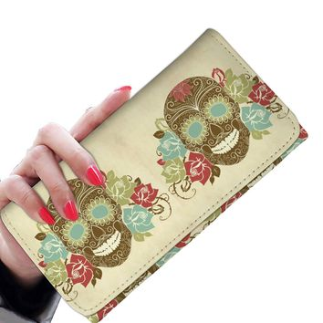Sugar skulls-Women's wallet