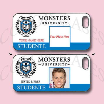 Monster University,iPhone 5 case with your name and photo, iPhone 4 case,ipod case,samsung galaxy s3, galaxy s4,note 2,Blackberry Z10,Q10