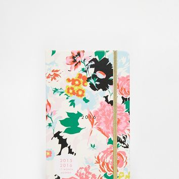 Ban.Do Floral 18 Month Diary