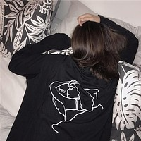 """Bae Pillow"" Long Sleeve Shirt"