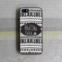 iPhone 5S Case , iPhone 5C Case , iPhone 5 Case , iPhone 4S Case , iPhone 4 Case , Aztec Hakuna Matata
