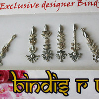 Designer Bindi Jewelry & Crystal Handmade Bindis.