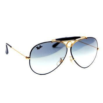 Vintage Ray Ban Bausch and Lomb Precious Metals Shooter Sunglasses 62mm