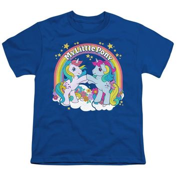 My Little Pony Kids T-Shirt Windy and Moonstone Royal Tee