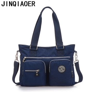Women Handbag Shoulder Bag Messenger Bag Casual Colorful Canvas Crossbody Bags For Girl Student Waterproof Nylon Laptop Tote