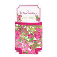 Lilly Pulitzer Drink Hugger- Beach Rose