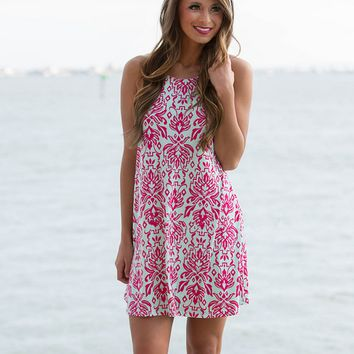 Paisley Strappy Dress