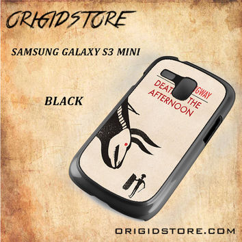 Death In The Afternoon Snap on Black White and 3D Samsung Galaxy S3 Mini Case