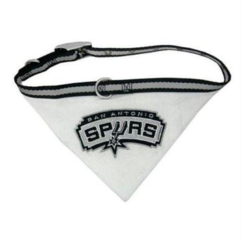 ESBONI San Antonio Spurs Dog Collar Bandana