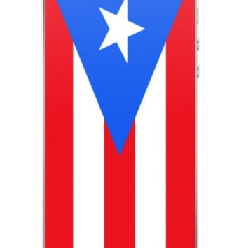 Flag of Puerto Rico Protective iPhone Case (For all iPhone 5,6,7 Models)