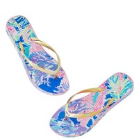 LILLY PULITZER Pool Flip Flops $32