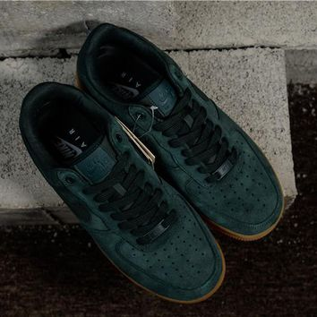 Nike Air Force 1  07 Lv8 Suede 35anni Green Raw Aa1117 300  3bc0987fc