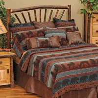 Deer Meadow Lodge Decor Bedding - For the lakeside cabin or mountain lodge!