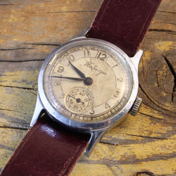 Vintage classic Pobeda watch russian watch ussr cccp