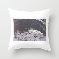 Ocean Throw Pillow by Lucy Helena | Society6