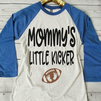 football maternity. football maternity shirt. football maternity top. football pregnancy reveal. football pregnancy announcement